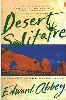 book cover desert solitaire