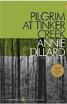 book cover pilgrim at tinker creek