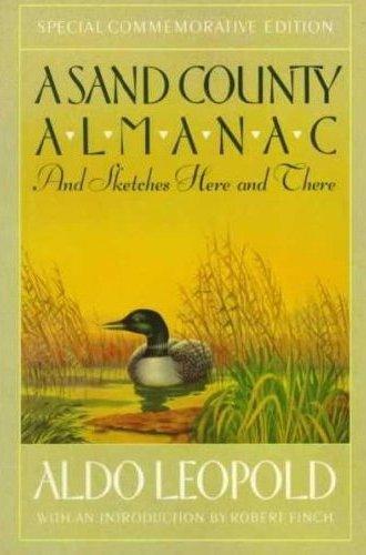 book cover sand county almanac