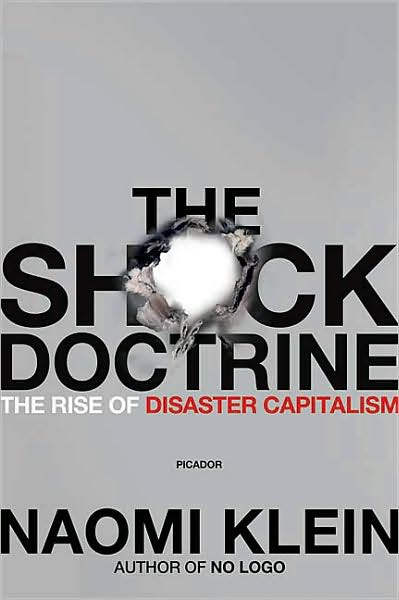 Book Cover Shock Doctrine