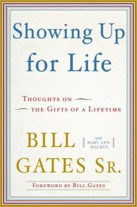 Book Cover Showing Up for Life